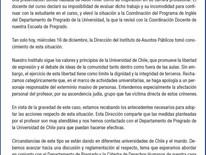 CSW a U. de Chile: Alumna Expuso que Hitler  Inspira para los Asuntos Públicos Merece Sanción