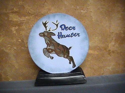 Deer Hunter Lamp painted
