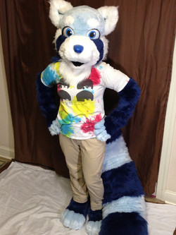 Blue the Red Panda
