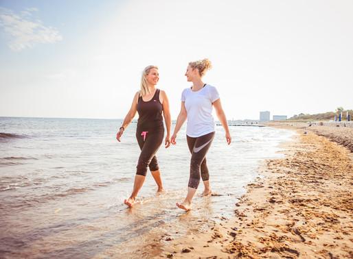 DIE SCHRITTEMACHER(IN) - Annett Liskewitsch hilft beim fit bleiben & GESUND GEHEN