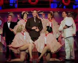 K-David Harris and the cast of Goodspeed
