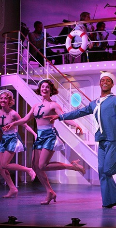 A-The cast of Goodspeeds Anything Goes.