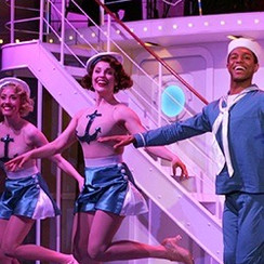 The cast of Goodspeed's Anything Goes