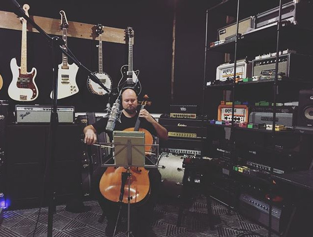 Recording _gutstrings today at _therecor