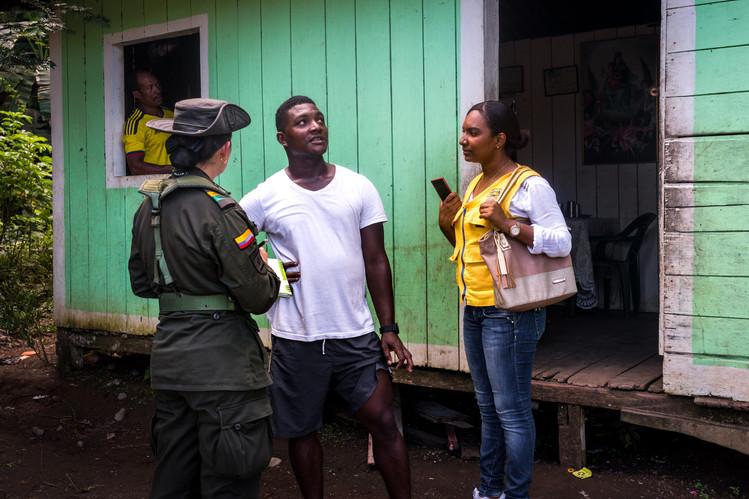 Misión humanitaria