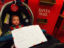 The most beautiful letter to Santa from Baby Uriah