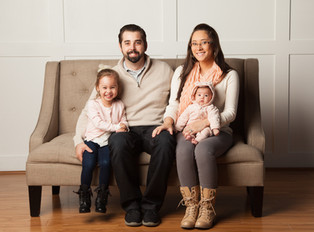 Proud breastmilk donor Michelle and her beautiful family.