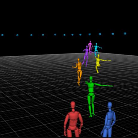 Motive Optical motion capture software.