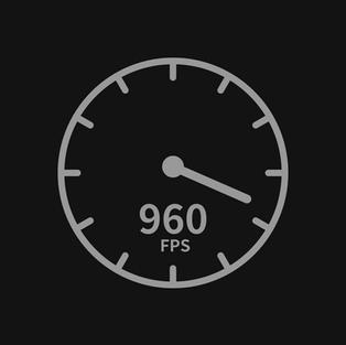 960 fps 캡쳐