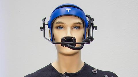 견고한 유리 섬유 몰드 헬멧