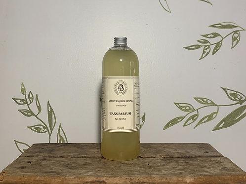 Savon Liquide Mains No Scent 1 L