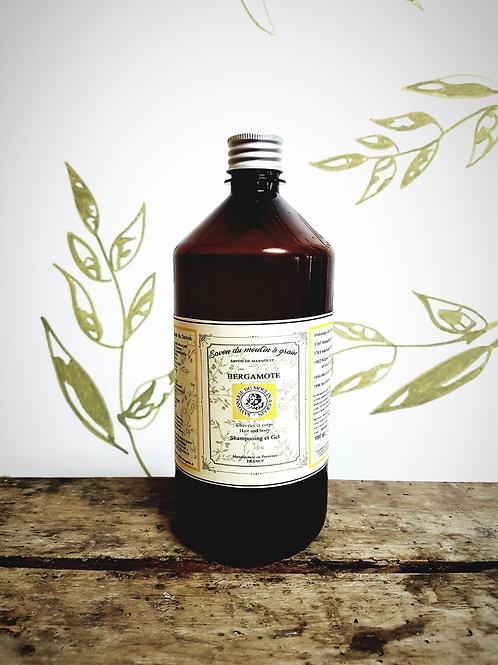 Shampoing et Gel Bergamote 1L