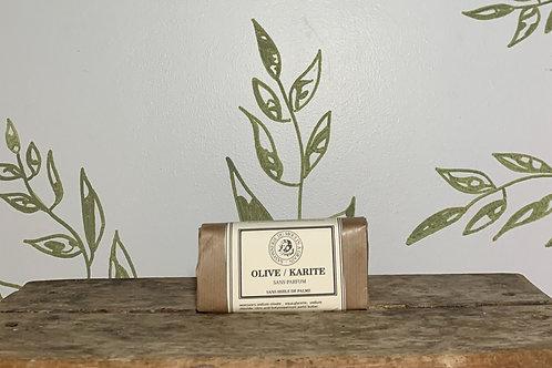 Savon Solide Olive / Karité 100 G