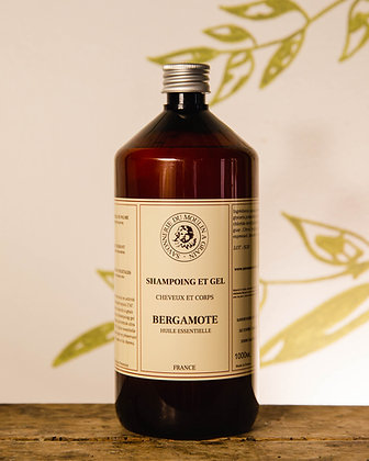 Shampoing et Gel Bergamote