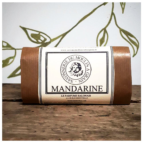 Savon du moulin à grain Mandarine