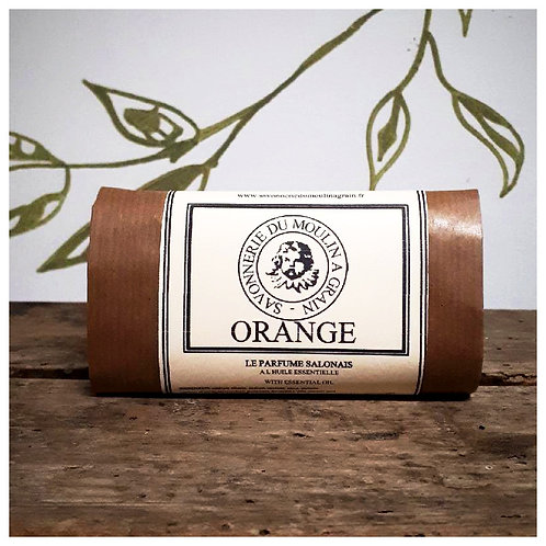 Savon du moulin à grain Orange