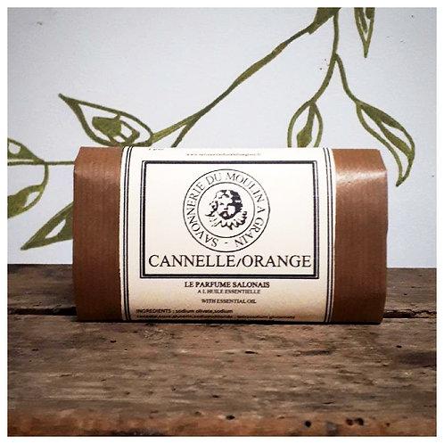 Savon du moulin à grain Cannelle-Orange