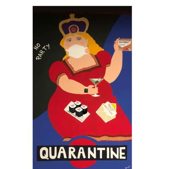 The queen of Quarantine 80x120
