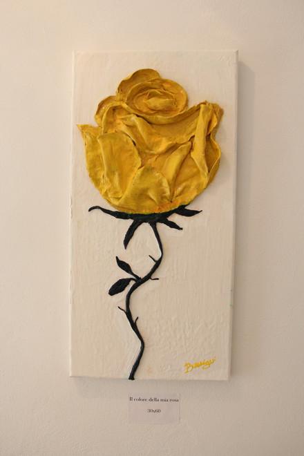 Il colore della mia rosa 30x60