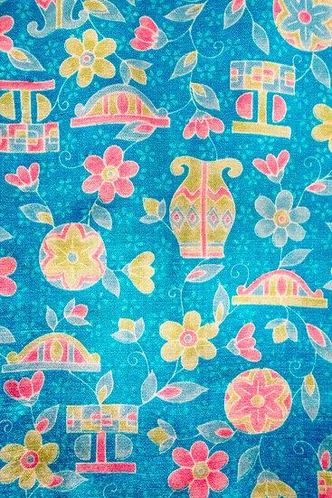 Bata hecha con Kimono a medida Tela 12