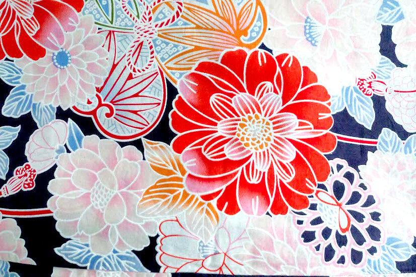 Bata hecha con Kimono a medida Tela10