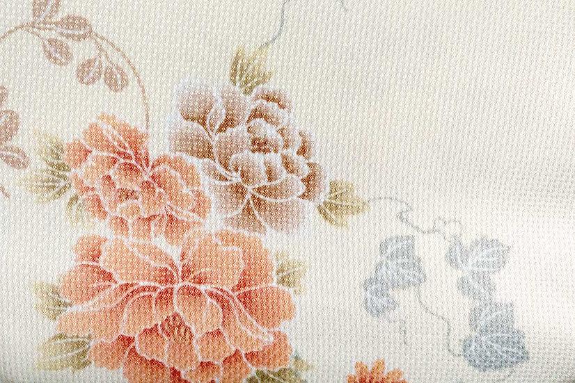 Bata hecha con Kimono a medida Tela 8