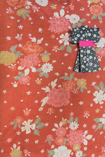 Bata hecha con Kimono a medida Tela 11