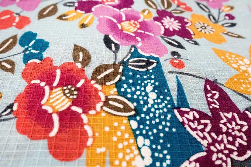 Bata hecha con Kimono a medida Tela 2