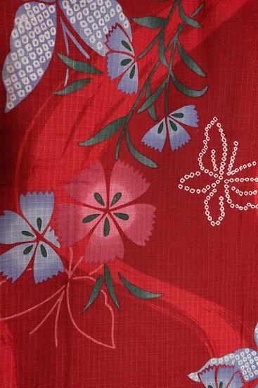 Bata hecha con Kimono a medida Tela 3