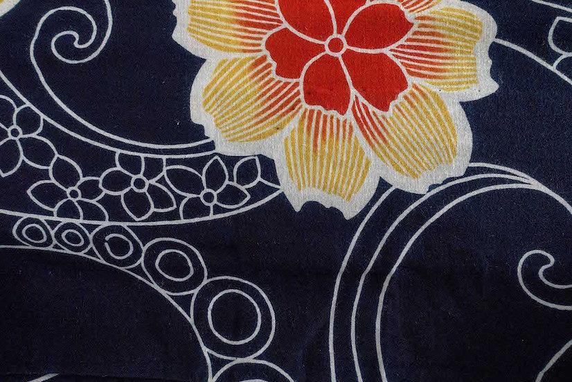 Bata hecha con Kimono a medida Tela 13