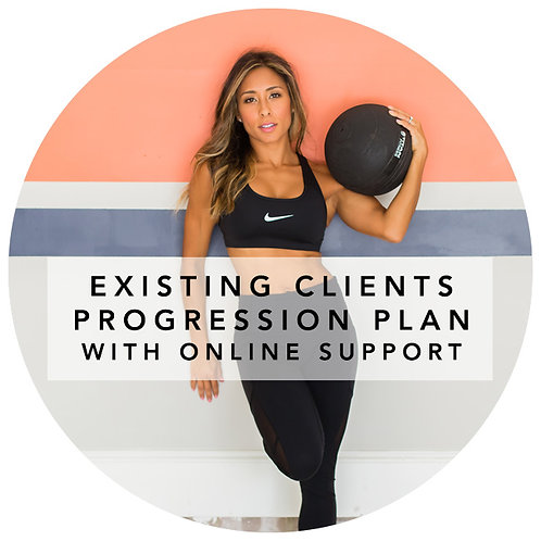 EXISTING CLIENTS PROGRESSION PLAN WITH ONLINE SUPPORT