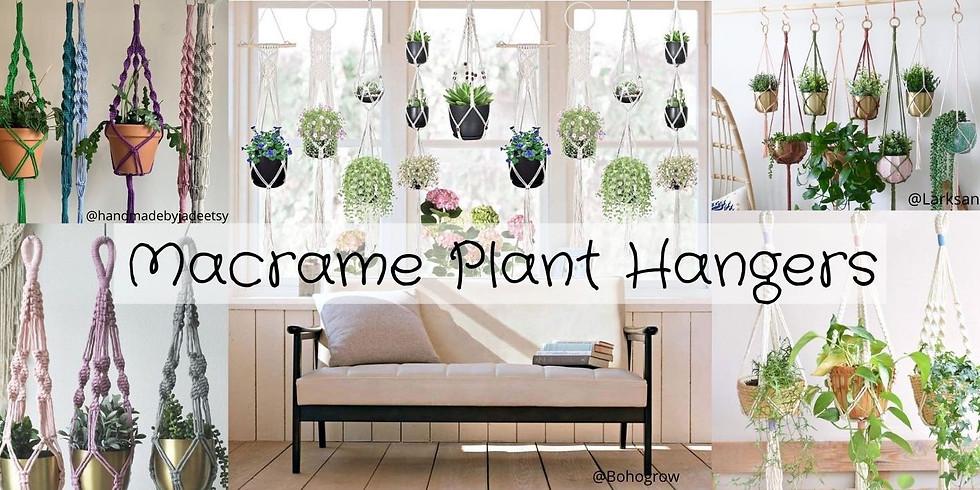 DIYTLV Macrame Plant Hangers
