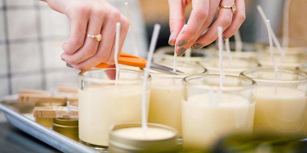 DIYTLV Candle making workshop