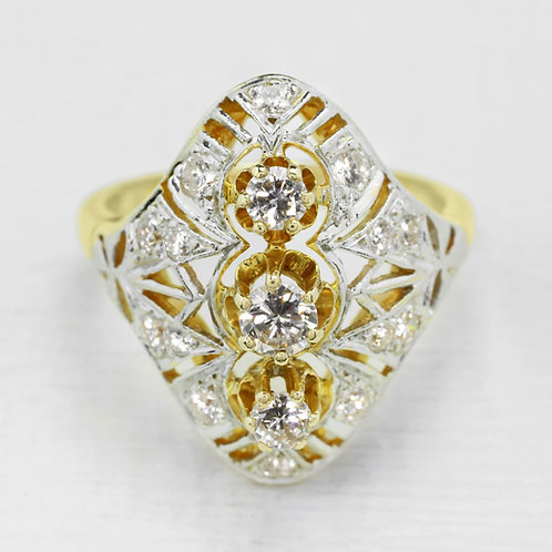 Edwardian Reproduction Style Ring