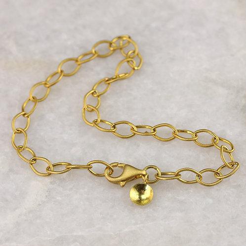 Satin Finish Link Bracelet