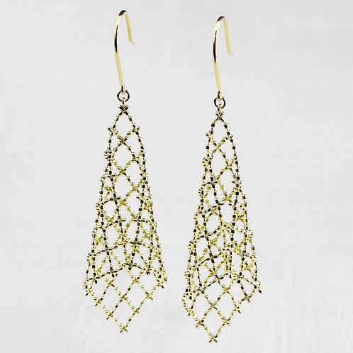 Shimmering Dangle Earrings