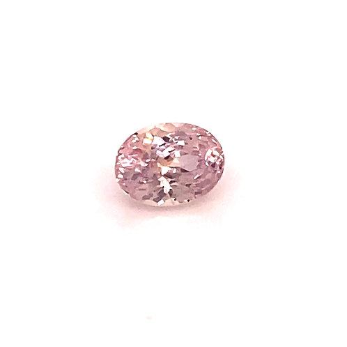 Oval Light Pink Sapphire