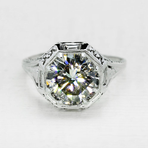 Edwardian Vintage Engagement Ring