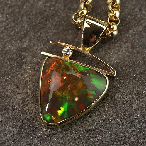 Custom Opal Pendant