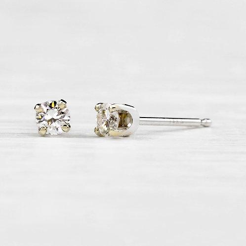 Petite Diamond Studs