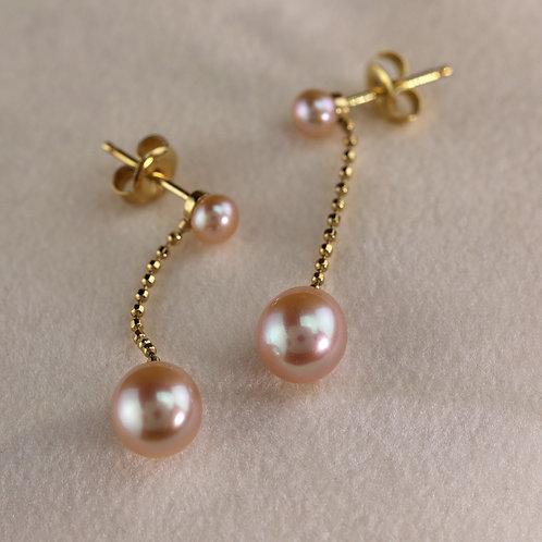 Blush Pearl Dangles