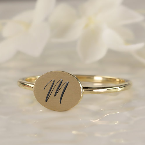 Engravable Stacking Ring