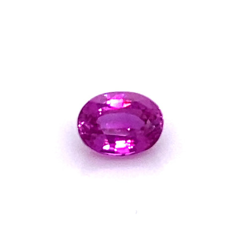 Oval Hot Pink Sapphire