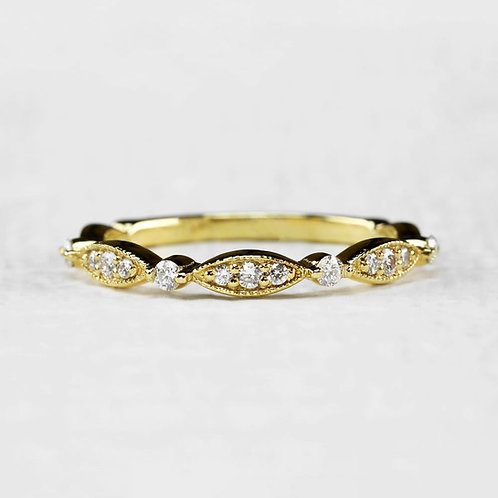 Marquise Pattern Band