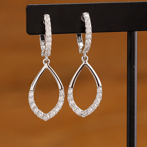 Elegant Diamond Dangles
