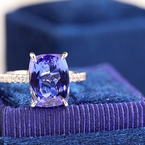 Bold Tanzanite Ring