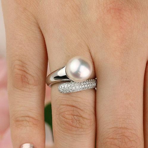 Pavé Pearl Ring