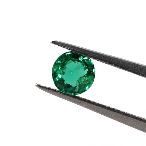 Round Emerald - .49 Carats