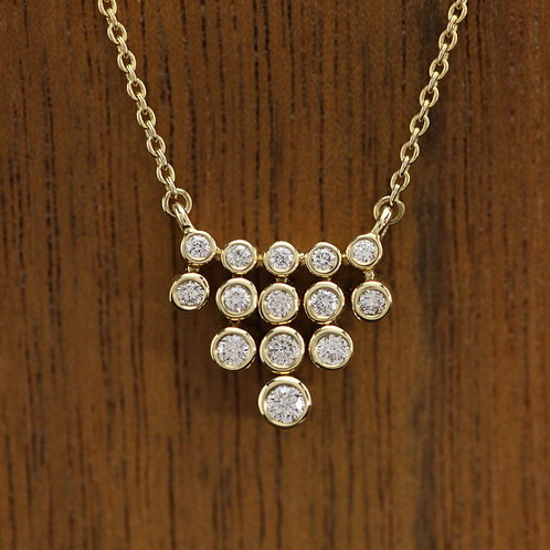 Cascading Diamonds Necklace