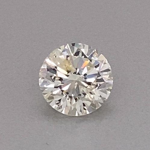 Round Brilliant Diamond 2.64 carats